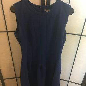 Royal Blue Fit & Flare Dress